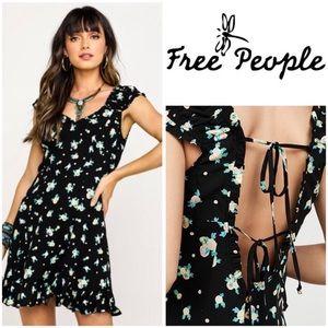 Free People Like A Lady Printed Mini Dress Sz M